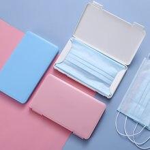 Maske Lagerung Box Fall Tragbare Staubdicht Feuchtigkeit-beweis home Manager Lagerung Box Band-aid Temporäre Lagerung Organizer Container