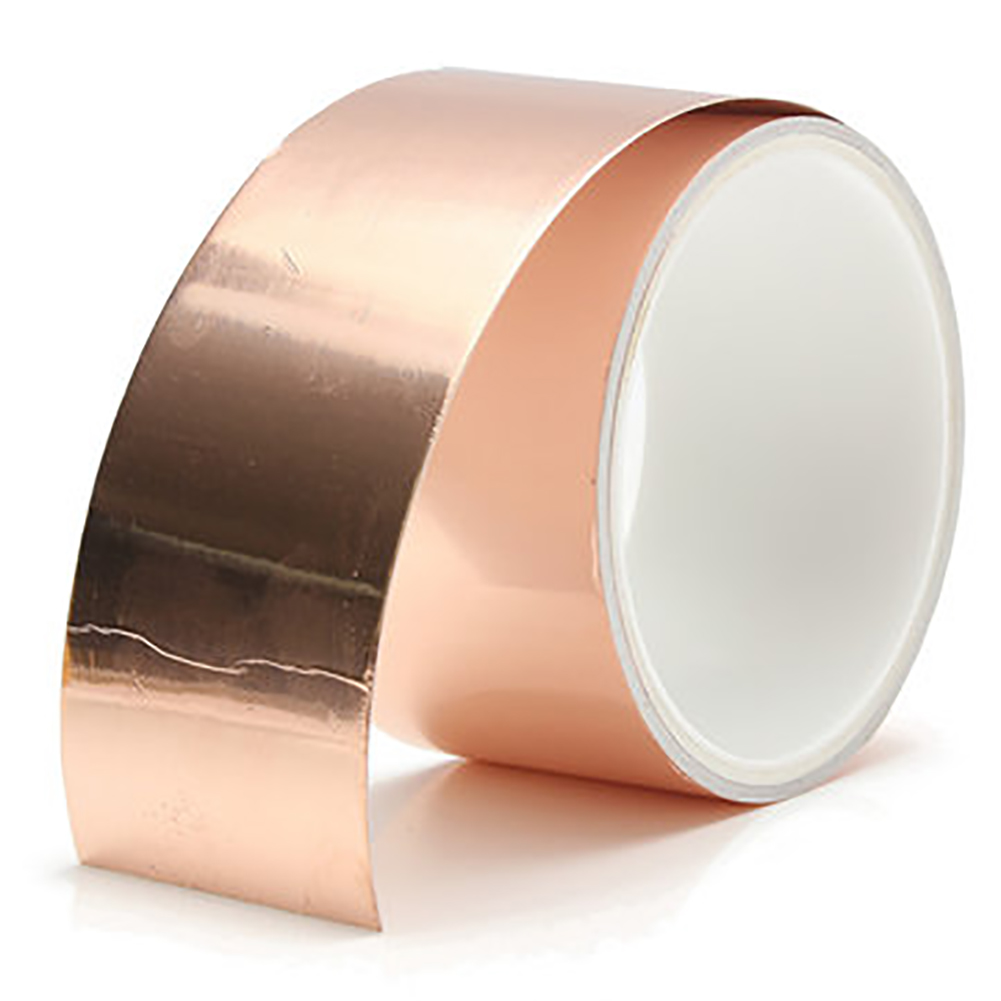 3m*50mm Guitar Copper Foil Tape EMI Shielding Barrier Conductive Copper Foil Tape Electric Guitar