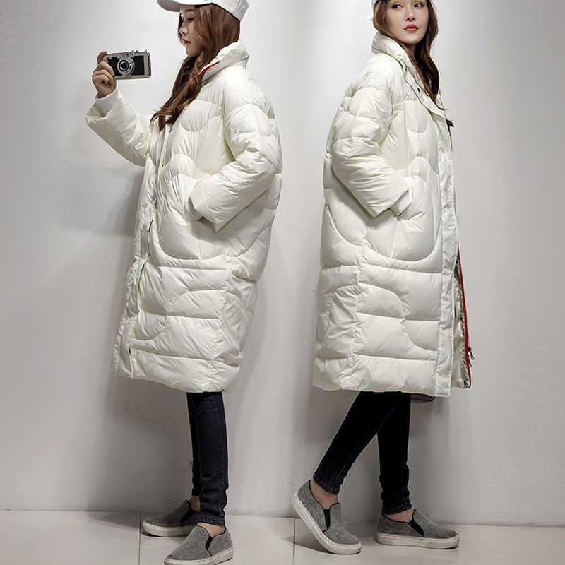 Size Winter Plus Vrouwen Jas Vrouwelijke Dikke Toevallige Witte Eend Donsjack Womens Warm Lange Jassen Hiver 2020 2006