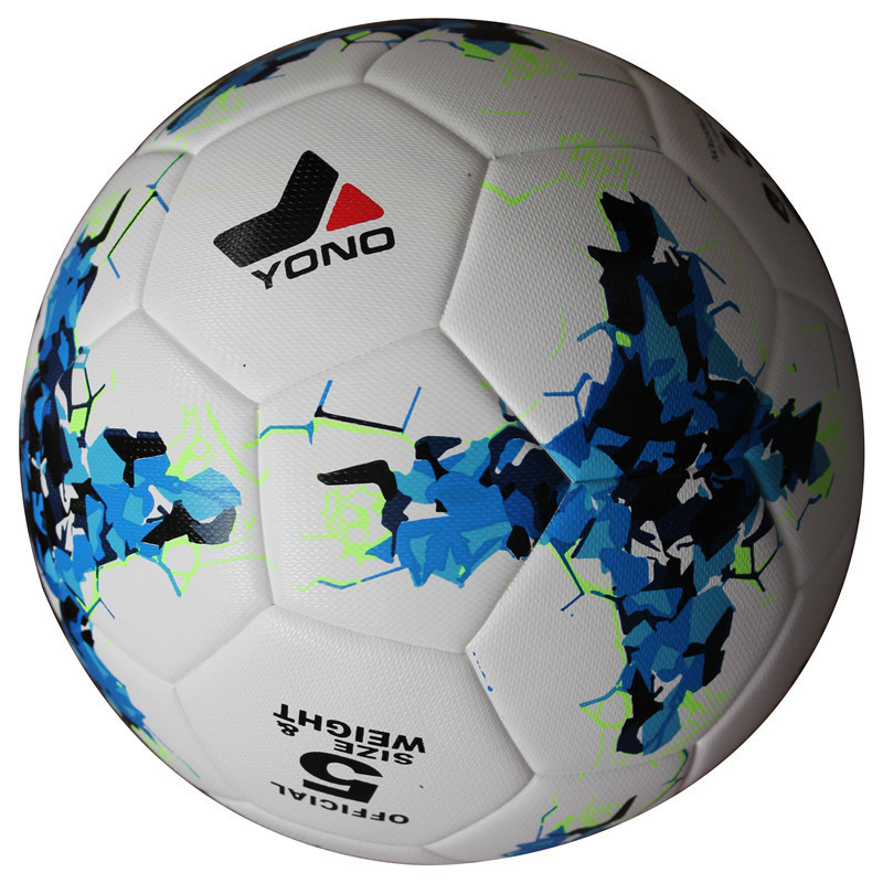 YONO PU #5 Soccer Goal Ball Football Teenagers Professional Training Ball Size 5 Competition Viscose Wear-resisting White