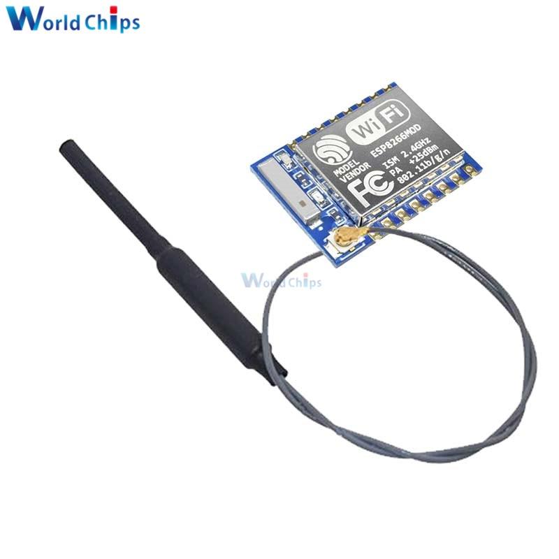 ESP8266 ESP-07 ESP07 Wifi Module Serial Port with IPX 2.4G Antenna for Arduino