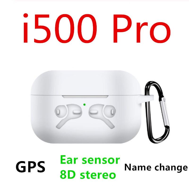New I500 Pro TWS Change Name Positioning Bluetooth Earphones In-ear Detection KO I100000 I200000 TWS Wireless Earphone