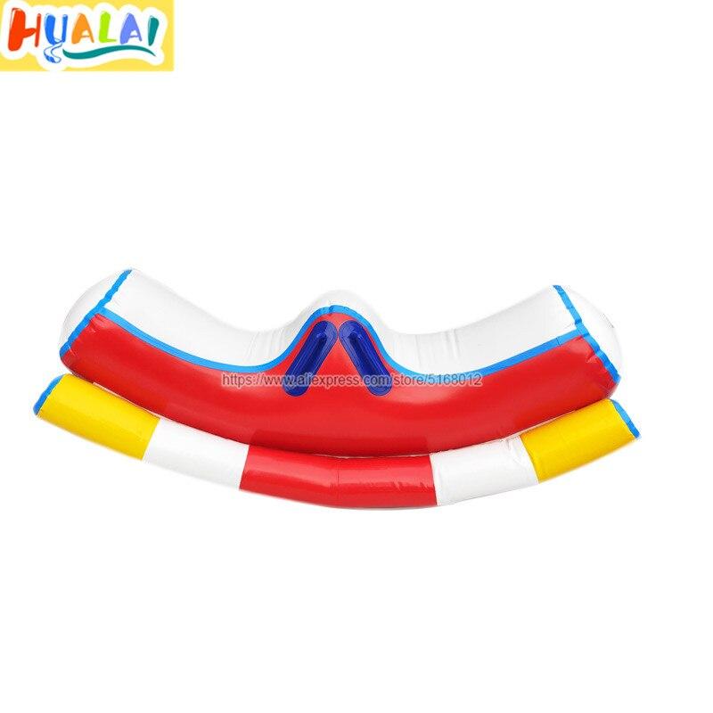 Hualai надувная игрушка для воды аквапарк игры seesaw подвижный лафет для детей ПВХ 1 шт. 1,5 м ength