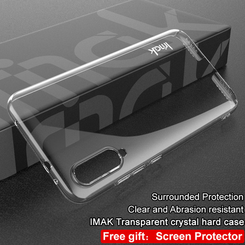 For Xiaomi MIA3 MI A3 9 Lite CC9e CC9 Case Imak Hard Plastic Phone Cases Transparent Clear Protective Back Cover crystal shell Karachi