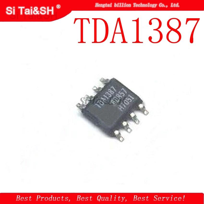 4pcs/lot TDA1387 SOP-8 TDA1387T