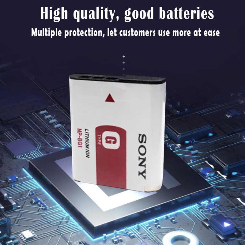 D'origine Sony NP-BG1 NP BG1 NPBG1 Caméra batterie FG1 DSC W120 W125 W130 W150 W170 W200 W210 W220 W230 W290 T20 T100 HX30