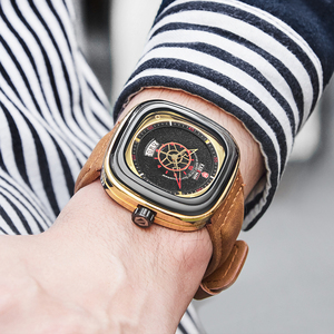 Image 4 - KADEMAN 新スクエア腕時計男性高級スポーツ腕時計 2019 星空デザインファッション腕時計 3TAM ビジネスカジュアルレロジオ Masculino