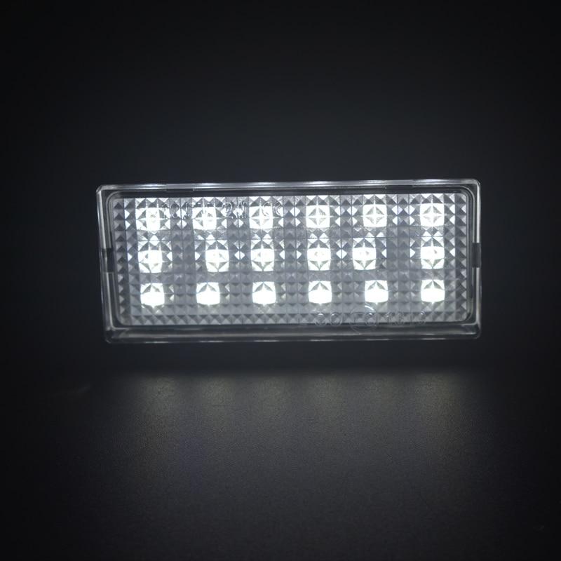 LED Number License Plate Light Lamps For Hyundai Kia Tiburon Coupe Soul Rio I20