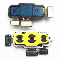 1 sztuk powrót tylny duży główny moduł kamery taśma do samsunga Galaxy A7 2018 A750 A750F Flex kabel do aparatu Bar części zamienne