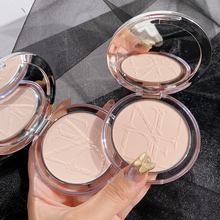 Smooth Face Powder Mineral Foundation Oil-control Brighten Concealer Whitening Make Up Pressed Powder Cosmetic