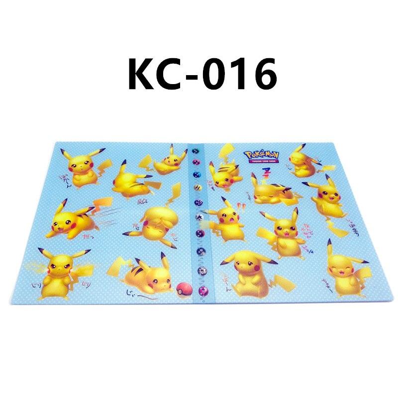24 стиля Pokemon Cards альбом книга мультфильм аниме Карманный Монстр Пикачу 240 шт держатель альбомная игрушка для детей подарок - Цвет: KC-016