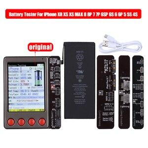 Image 1 - Data Kabel Tester Batterij Tester Voor iPhone XR XS XS MAX X 8 8P 7 7P 6 6S 5 4 4S Voor iPad Android Batterij Checker een Sleutel Clear