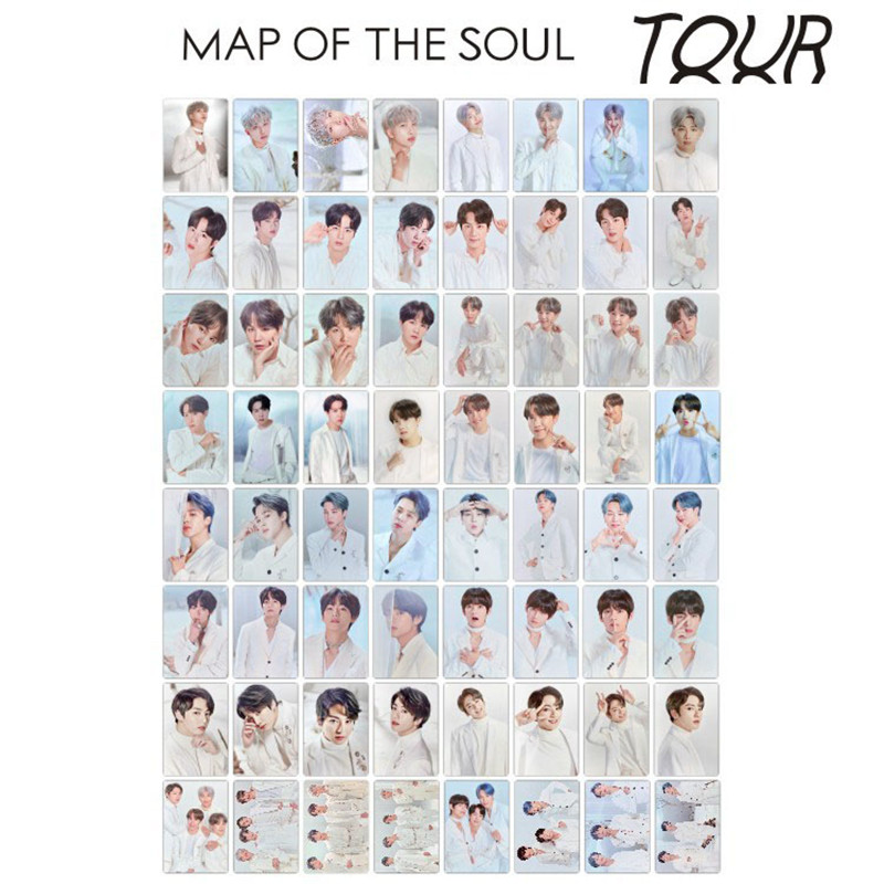 KPOP 8PCS/SET Map Of The Soul Tour LOMO Card Photocard JUNG KOOK JIMIN JIN SUGA J-HOPE JH543