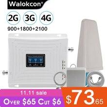 مكبر للصوت الخلوي GSM 2g 3g 4g مكرر 900 1800 2100 LTE 4g مكبر للصوت الإنترنت GSM موبايل مكرر إشارة الداعم الخلوي