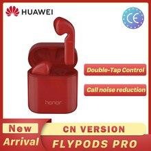 Huawei-auriculares inalámbricos Honor Flypods Pro, cascos Hi-Fi con TWS, Bluetooth, resistentes al agua, IP54, control táctil, carga inalámbrica