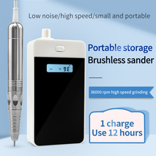 Rechargeable Pro Brushless Nail Drill 35000RPM Electric Manicure Nail Drill 36W Pedicure Brushless Motor Charging Nails Tool