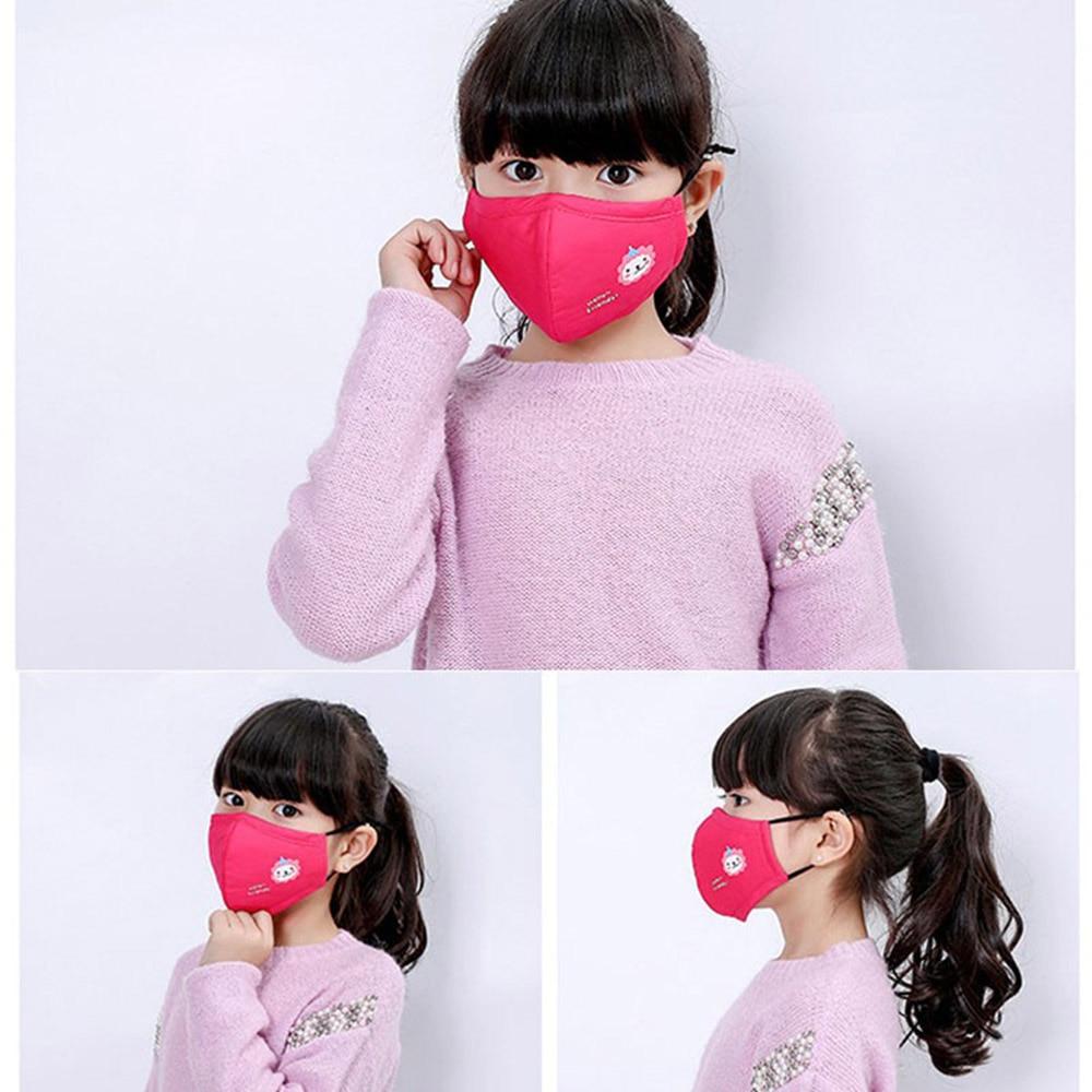 1Pcs Cotton PM2.5 Mouth Mask Anti-Dust Anti Pollution Mask Cloth For Child Adult Ashion Unisex  Breath Health