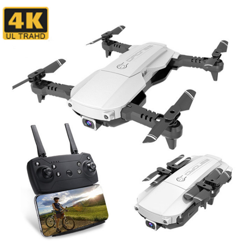 RC Drone HD Camera 4K Wifi FPV Optical Flow Positioning Gesture Photo Foldable RC Dron Quadcopter Kids Toys Gift