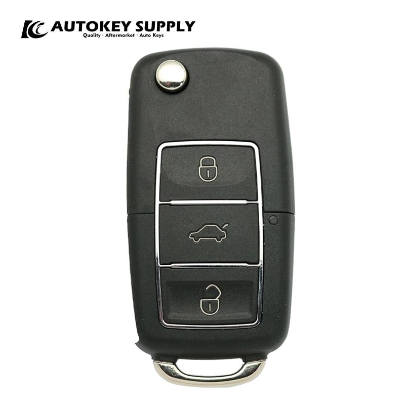 AKBPCP078 AUTOKEYSUPPLY дистанционного ключа для позитронная сигнализация системы, VW поло двойной программа (293/300)