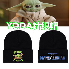 Gift Toys Knitted-Hat Among Baby Yoda Model Cap Hip-Hop-Hat Us-Game Keep-Warm