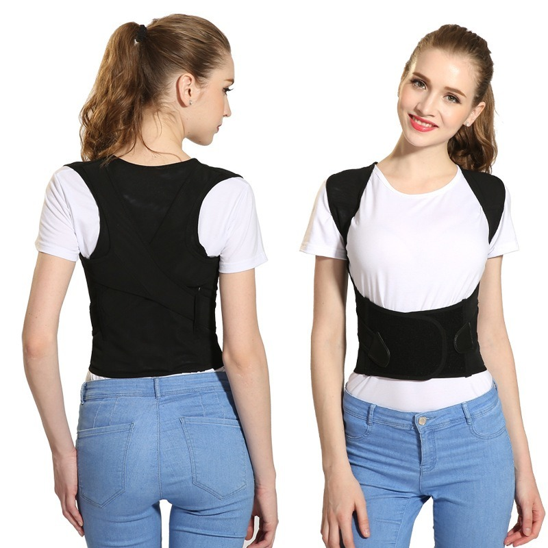 Adult Children Back Posture Corrector Therapy Corset Spine Support Belt Lumbar Back Posture Correction Bandage Back Support Belt