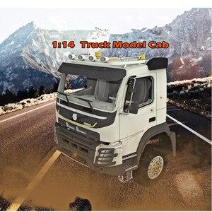 Image 4 - Rc Speelgoed Model Auto S Body Shell Cab Sets Fit Voor 1/14 Schaal Afstandsbediening Speelgoed Vrachtwagen Tamiya Tractor Trailer Scania benz MAN Volvo