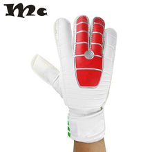 Professional Goalkeeper of Gloves Finger Protection Thickened Latex Soccer Goalie Football u
