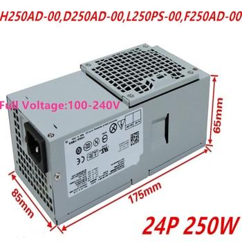New PSU For Dell V3800 3010 7010 9010 390 790DT V260S 620S Power Supply H250AD-00 D250AD-00 L250PS-00 F250AD-00 AC250ES-00 фото