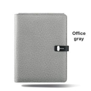 Image 5 - A5 Qi Wireless multifunction Charging Power Bank Notebook 5000MAh Replacement Diary Book+USB IOS Type c Office Business gift