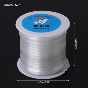 1 Roll 20M Rubber Band Line String Wire Used For Hunting Slingshot Catapult Head 6