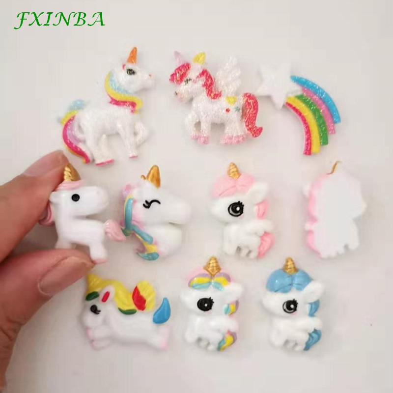 Slime charms 8pcs Cute Candy Charms For Slime Filler Cake Ornament Phone Decoration Charms Slime Supplies Toys 2