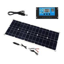 Heißer 3C 100W 18V Dual USB Solar Panel Ladegerät Solar Controller für Boot Auto Home Camping Wandern