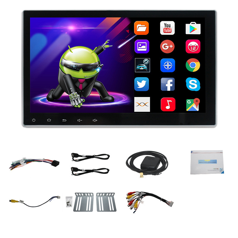 9 дюймов 2 Din Android 8,1 автомобильная универсальная навигация HD сенсорный экран Bluetooth gps навигация Мультимедиа