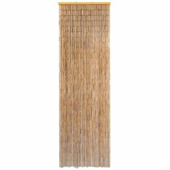 "【USA Warehouse】Insect Door Curtain Bamboo 22""x72.8"""