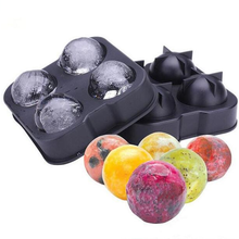 Mold Ice-Cube-Ball-Maker Whiskey Round-Bar Kitchen-Tools Accessiories Brick Random-Color