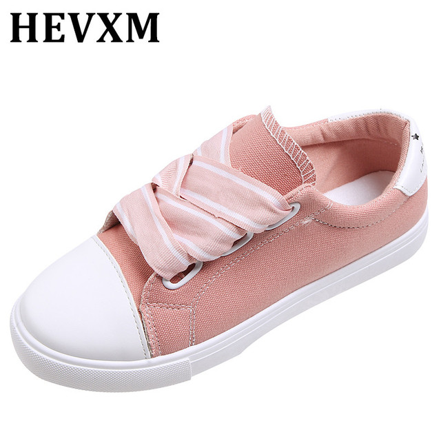 Canvas Shoes For Women Footwear Women color: black C-001|Pink C-001|white C-001