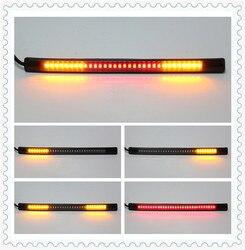 Uniwersalna lampa do motocykla z tylny hamulec stop włącz sygnał akcesoria do SUZUKI DRZ400E DRZ400S SM DR250R DJEBEL250XC 250SB