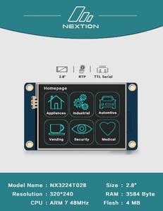 Image 2 - 2.4 2.8 3.2 3.5 pouces Nextion ihm Intelligent Intelligent USART UART spi écran tactile TFT LCD Module pour framboise Pi 2 A + B + uno mega