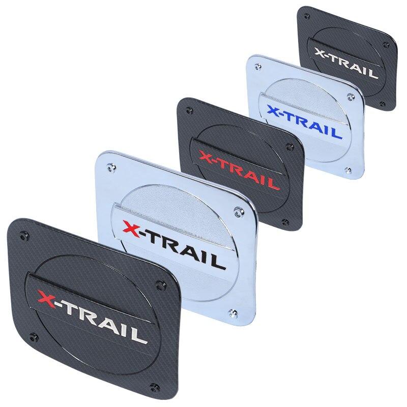 Couvercle de réservoir de carburant chromé en acier inoxydable de haute qualité, pour Nissan x-trail X Trail T32 Rogue 2014 – 2021