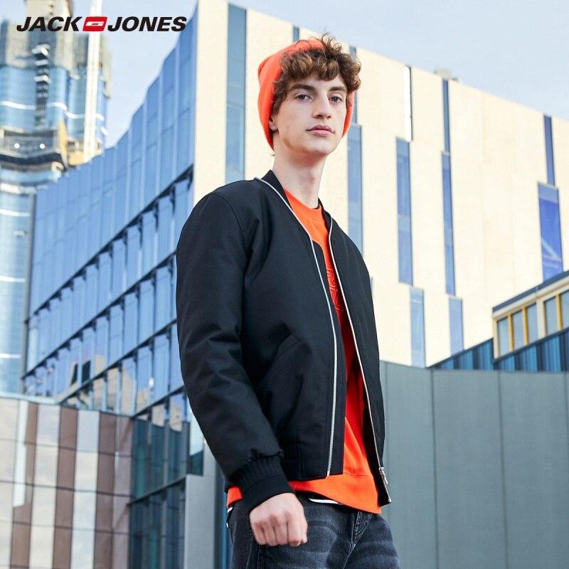 JackJones Men's Sports Baseball Collar Jackets 219309512
