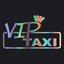 CS-1614# VIP taxi reflective funny car sticker vinyl decal silver/black for auto car stickers styling car decoration cs 1664 20 9cm sawed off reflective funny car sticker vinyl decal silver black for auto car stickers styling car decoration