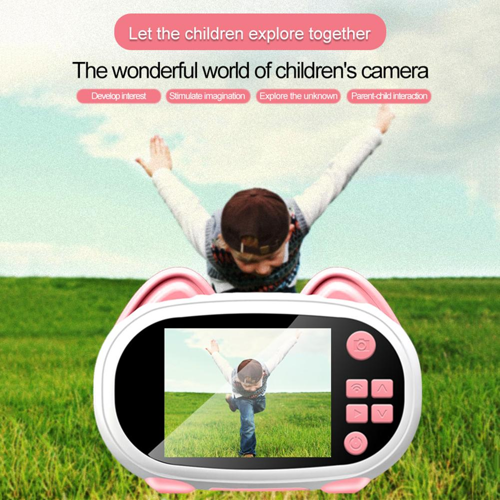 H300f0ea7130a40108524c7f575da6f67q 2019 Newest Mini WiFi Camera Children Educational Toys For Children Birthday Gifts Digital Camera 1080P Projection Video Camera