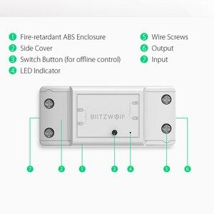 Image 5 - Blitzwolf BW SS4 básico 2200w 10a 1/2 way wifi, módulo de interruptor de casa inteligente diy, temporizador de contagem regressiva controle remoto inteligente,