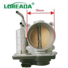 Conjunto do corpo do acelerador oem SERA526-01 com tamanho do furo 70mm para n issan tiida micra hitachi válvula de acelerador rme60 sera52601