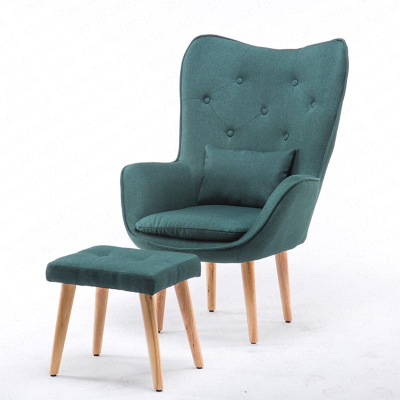 US $147.13 3% OFF|Lazy Sofa Small Apartment Modern Minimalist Creative Bedroom Sofa Nordic Fabric Balcony Leisure Single Sofa Chair| | AliExpress