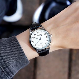 Image 5 - Mens Fashion Automatische Mechanische Selbst Wicklung Kalender Display Römischen Zahlen Zifferblatt Analog Schwarz Lederband Armbanduhr Geschenke