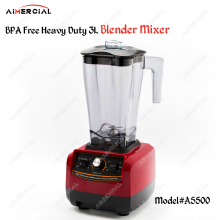 A5500 BPA free 2200W Heavy Duty 3L Blender Mixer Commercial Juicer Food Processor Ice Smoothie Blender with Japan Blade a7400 2800w bpa free 3hp 3 9l heavy duty commercial blender professional power blender mixer juicer food processor japan blade