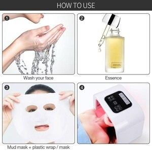 Image 4 - Máquina de terapia de fotones faciales PDT, máscara LED para cara, eliminación de pecas y acné, dispositivo de fotorejuvenecimiento