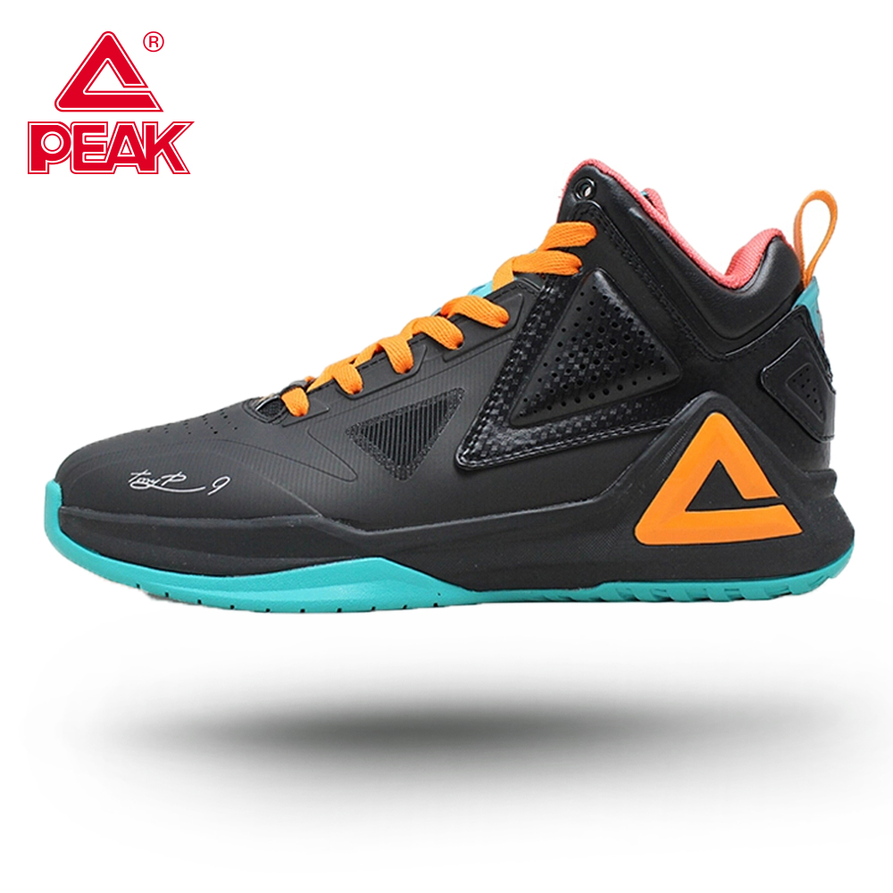 PEAK Professional Tony Parker I Men's Basketball Shoes Responsive Cushioning Breathable Upper Sport Flexible Non-slip Sneakers