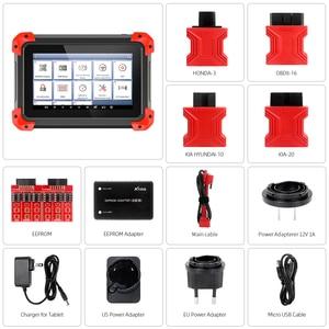 Image 5 - XTOOL X100 PAD Key Programmer professional OBD2 Auto scanner diagnostic tool odometer adjustment Update online code reader EPB